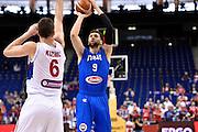 DESCRIZIONE : Berlino Eurobasket 2015 Group B Serbia Italia Serbia Italy<br /> GIOCATORE :&nbsp;Andrea Bargnani<br /> CATEGORIA : nazionale maschile senior A<br /> GARA : Berlino Eurobasket 2015 Group B Serbia Italia Serbia Italy<br /> DATA : 10/09/2015<br /> AUTORE : Agenzia Ciamillo-Castoria