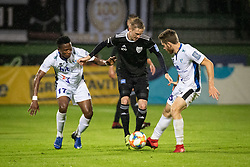 Bede Amarachi Osuji of Gorica and Žan Karničnik of Mura during football match between NŠ Mura and ND Gorica in 34nd Round of Prva liga Telekom Slovenije 2018/19, on May 18, 2019 in Fazanerija, Murska Sobota, Slovenia. Photo by Blaž Weindorfer / Sportida