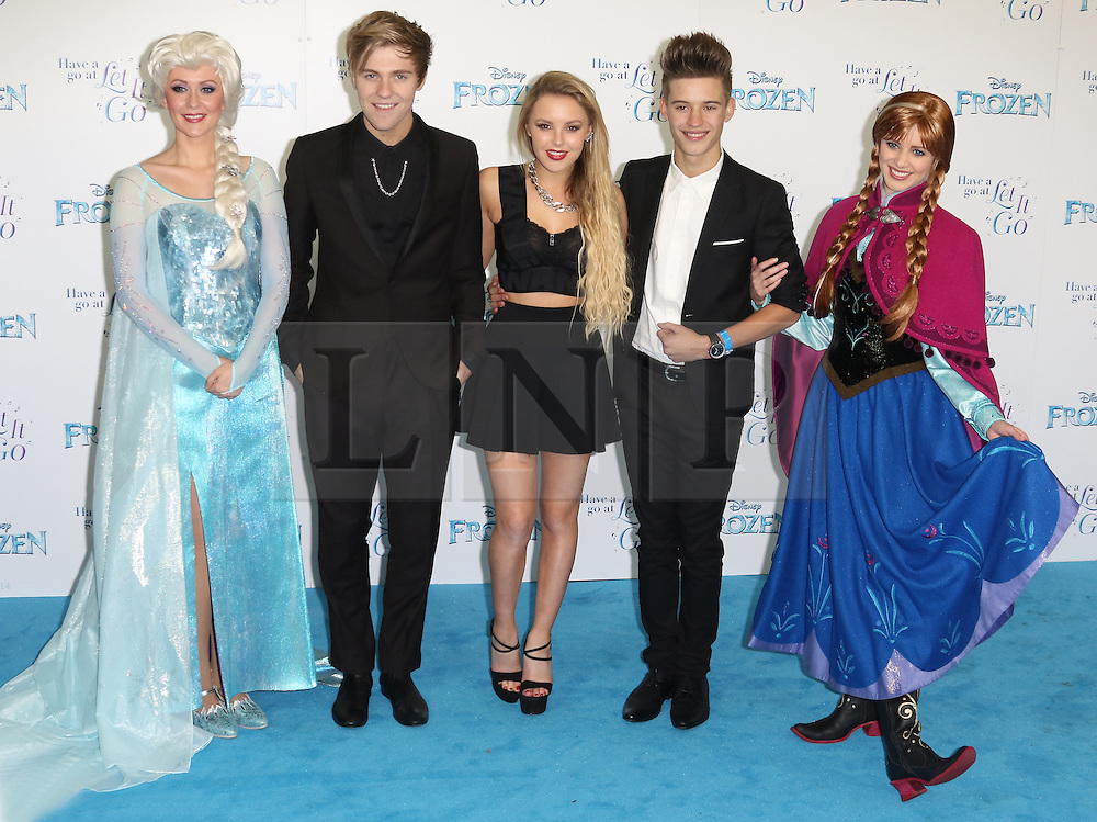 Only The Young, Frozen Sing-Along - VIP film screening, Royal Albert Hall, London UK, 17 November 2014, Photo by Richard Goldschmidt ©under licence to London News Pictures. +44 (0)208 408 0190
