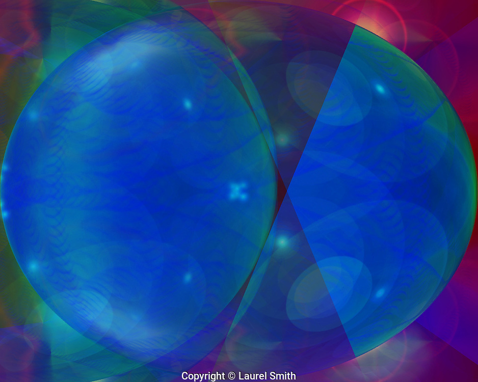 Symphony of Light #93 ~ Wandering Into Other Worlds ~ © Laurel Smith