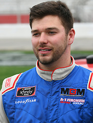 February 23, 2019 - Hampton, GA, U.S. - HAMPTON, GA - FEBRUARY 23: Chad Finchum, MBM Motorsports, Toyota Supra James Carter Attorney at Law/CrashClaimsRUs.com (42) on pit road before the Xfinity Series Rinnai 250 on February 23, 2019, at Atlanta Motor Speedway in Hampton, GA.(Photo by Jeffrey Vest/Icon Sportswire) (Credit Image: © Jeffrey Vest/Icon SMI via ZUMA Press)