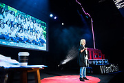Jane Engelmann during the TEDxWanChai event Emergence on Jun 2, 2018, in Hong Kong. / Moses Ng / MozImages