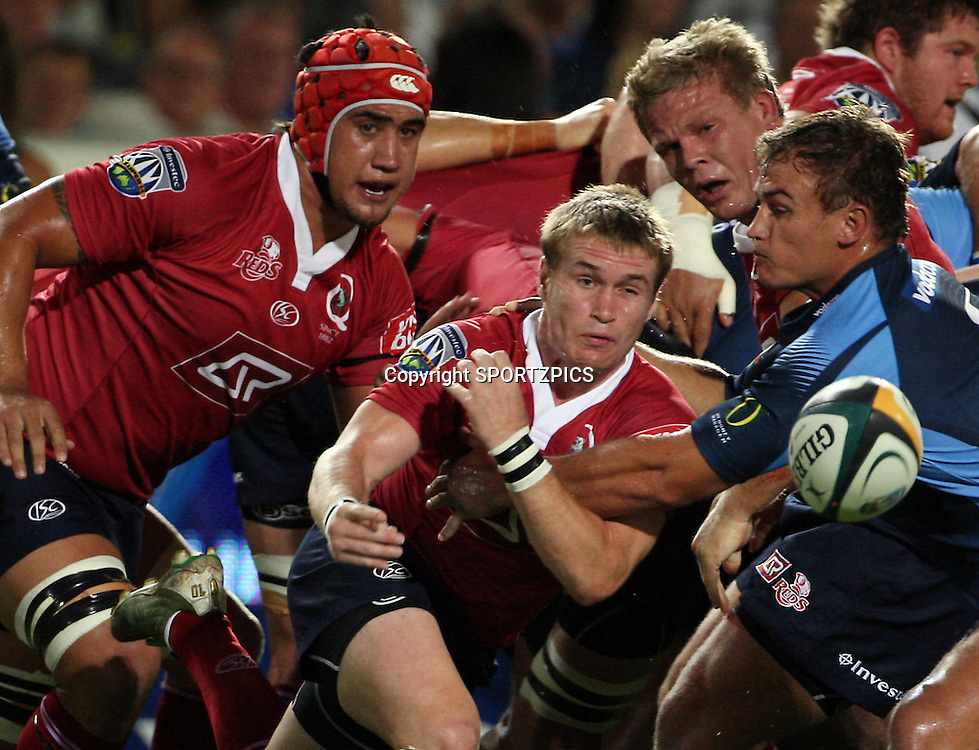 PRETORIA, South Africa, Ben Lucas during the Super 14 match between the Bulls and the Reds held at Loftus Versfeld in Pretoria on the 14 February 2009..Photo By Barry Aldworth/ SPORTZPICS