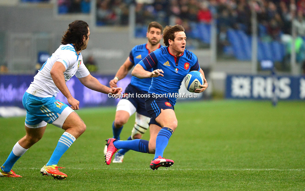 Camille LOPEZ - 15.03.2015 - Rugby - Italie / France - Tournoi des VI Nations -Rome<br /> Photo : David Winter / Icon Sport