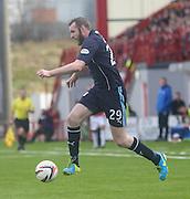 Craig Beattie - Hamilton v Dundee, SPFL Championship at <br /> New Douglas Park<br /> <br />  - &copy; David Young - www.davidyoungphoto.co.uk - email: davidyoungphoto@gmail.com