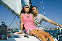 Sailing Couple