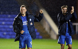 Ricky Miller of Peterborough United celebrates the victory at full-time - Mandatory by-line: Joe Dent/JMP - 12/09/2017 - FOOTBALL - ABAX Stadium - Peterborough, England - Peterborough United v Milton Keynes Dons - Sky Bet League One