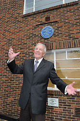 © Licensed to London News Pictures. 19/05/2013.Morecambe and Wise Plaque unveiling..Teddington Studios London  Plaque unveiling to Eric Morecambe and Ernie Wise (19.05.2013)..Ernest Maxin- Morecambe and Wise Producer..Photo credit :Grant Falvey/LNP