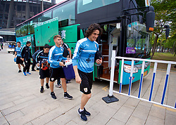 NANNING, CHINA - Sunday, March 25, 2018: Uruguay's Edinson Cavani arrives for a training session at the Guangxi Sports Centre ahead of the 2018 Gree China Cup International Football Championship final match against Uruguay. (Pic by David Rawcliffe/Propaganda)