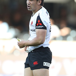 DURBAN, SOUTH AFRICA - MARCH 10: Ryoto Nakamura of the HITO-Communications Sunwolves during the Super Rugby match between Cell C Sharks and Sunwolves at Jonsson Kings Park Stadium on March 10, 2018 in Durban, South Africa. (Photo by Steve Haag/Gallo Images)