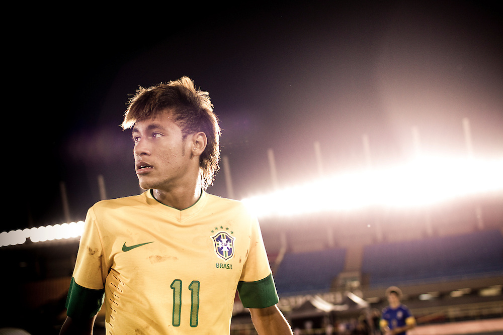 Sao Paulo, Brazil, Thursday - February 16, 2012: Neymar, Brazilian football team player, during a Nike advertisement filmmaking in Sao Paulo - Brazil. (photo: Caio Guatelli)