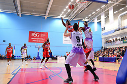 Daniel Edozie of Bristol Flyers - Photo mandatory by-line: Dougie Allward/JMP - 17/11/2017 - BASKETBALL - SGS Wise Arena - Bristol, England - Bristol Flyers v London Lions - BBL Championship