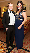 At the SCSI, (Society of Chartered Surveyors Ireland) - Western Region Annual Dinner 2016 in the Ardilaun Hotel Galway were Barry Hogge and Geraldine Kelly Aecom. Photo:Andrew Downes, xpousre