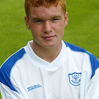 St Johnstone Photocall Season 2003-2004<br />Stevie McManus<br /><br />Picture by Graeme Hart.<br />Copyright Perthshire Picture Agency<br />Tel: 01738 623350  Mobile: 07990 594431