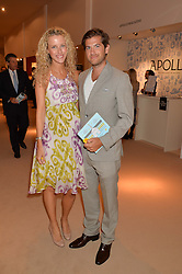 JACK & KATE FREUD at the Masterpiece Marie Curie Party supported by Jeager-LeCoultre held at the South Grounds of The Royal Hospital Chelsea, London on 30th June 2014.