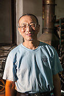 Chang Chieh-kuan, founder of the Rixing Type Foundry.