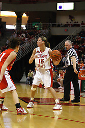 28 January 2007:Megan McCracken.  Before a record crowd or nearly 4200, the Bradley Braves were defeated by the conference leading (9-0) Redbirds of Illinois State University by a score of 55-47 at Redbird Arena in Normal Illinois.