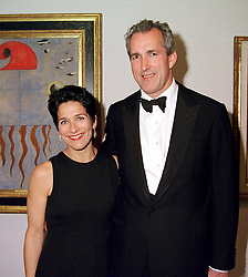MR & MRS JEREMY KING he is the restaurant owner, at <br /> a dinner in London on 3rd May 2000.ODH 126