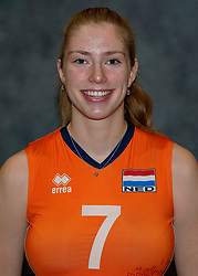 24-12-2019 NED: Photoshoot selection of Orange Youth Girls, Arnhem<br /> Orange Youth Girls 2019 - 2020 / Sanne Wagener #7