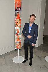 CHRISTOPHER BAILEY at the Alexandra Shulman and Leon Max hosted opening of Vogue 100: A Century of Style at The National Portrait Gallery, London on 9th February 2016.