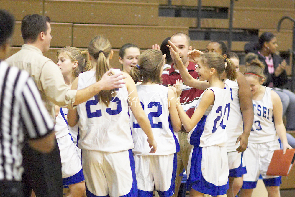 Wetsel Girls Basketball.vs Luray.Fourth Period.January 4, 2004