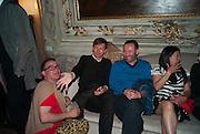 DAVID HOLLANDER; MATHIAS POLEDNA; THOMAS EGGERED, preview of Pinchuk Foundation's Future Generation Art Prize,     Palazzo Contarini PolignacVenice. Venice Bienalle. Thursday 30 May).