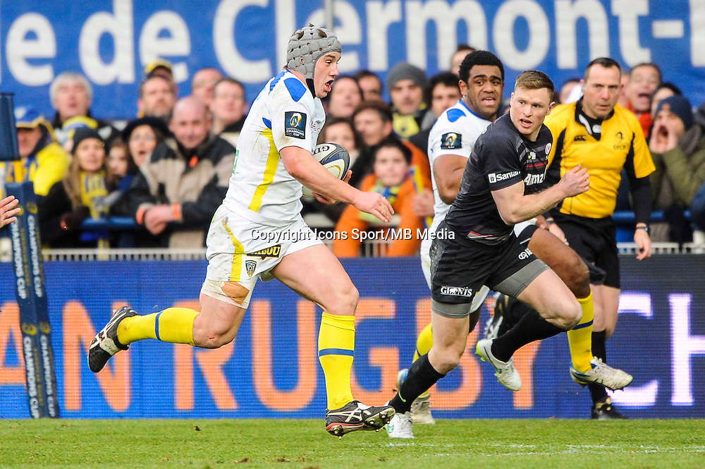 Jonathan DAVIES - 25.01.2015 -  Clermont / Saracens - European Champions Cup <br />