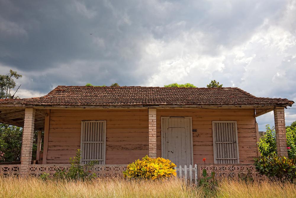 House in Cantel, Matanzas, Cuba.