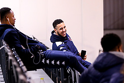 Chris Taylor of Bristol Flyers arrives at the Eagles Community Arena, for the BBL fixture against Newcastle Eagles - Photo mandatory by-line: Robbie Stephenson/JMP - 01/03/2019 - BASKETBALL - Eagles Community Arena - Newcastle upon Tyne, England - Newcastle Eagles v Bristol Flyers - British Basketball League Championship