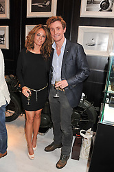 NICK & CATHERINE ENGLISH at the launch of the Bremont Boutique, 29 South Audley Street, London on 17th July 2012.