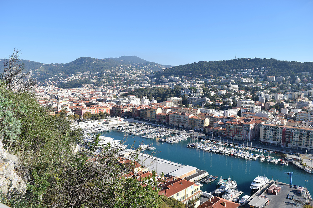 Nice Port view from the chateaux