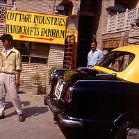 Emporium, Street scene, Old Delhi, India, photograph photography