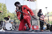 Photos of the band Charles Bradley & his Extraordinaires performing at The Great GoogaMooga festival at Prospect Park in Brooklyn, NY. May 20, 2012. Copyright © 2012 Matthew Eisman. All Rights Reserved.