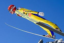 March 23, 2019 - Planica, Slovenia - Richard Freitag of Germany in action during the team competition at Planica FIS Ski Jumping World Cup finals  on March 23, 2019 in Planica, Slovenia. (Credit Image: © Rok Rakun/Pacific Press via ZUMA Wire)