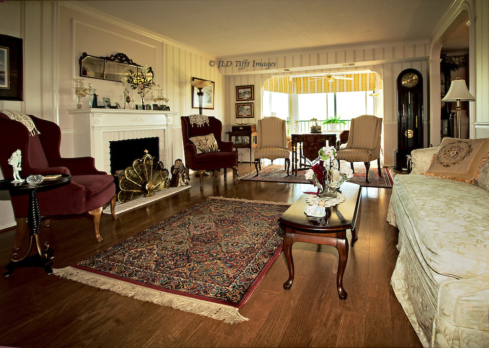 Upscale apartment living room interior jld tifft images - Home decorating classes decoration ...