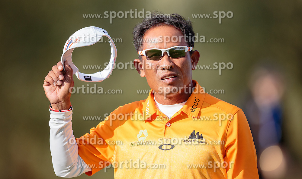 27.09.2015, Beckenbauer Golf Course, Bad Griesbach, GER, PGA European Tour, Porsche European Open, im Bild Thongchai Jaidee (THA) // Thongchai Jaidee (THA) during the European Tour, Porsche European Open Golf Tournament at the Beckenbauer Golf Course in Bad Griesbach, Germany on 2015/09/27. EXPA Pictures © 2015, PhotoCredit: EXPA/ JFK