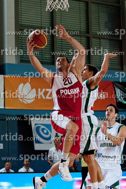 Piotr Szczotka of Poland at exhibition game between Slovenia and Poland for Primus Trophy 2011Lithuania as part of exhibition games before European Championship L2011on July 23, 2011, in Ljudski Vrt, Ptuj, Slovenia. (Photo by Matic Klansek Velej / Sportida)