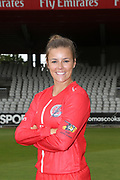 Lancashire Thunders Alex Hartley during the media day for Lancashire Thunder at the Emirates, Old Trafford, Manchester, United Kingdom on 17 July 2018. Picture by George Franks.