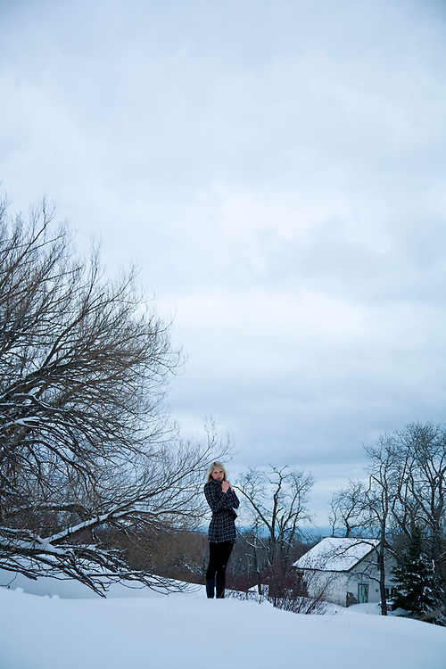 Winter fashion work in and around Grand Marais Minnesota