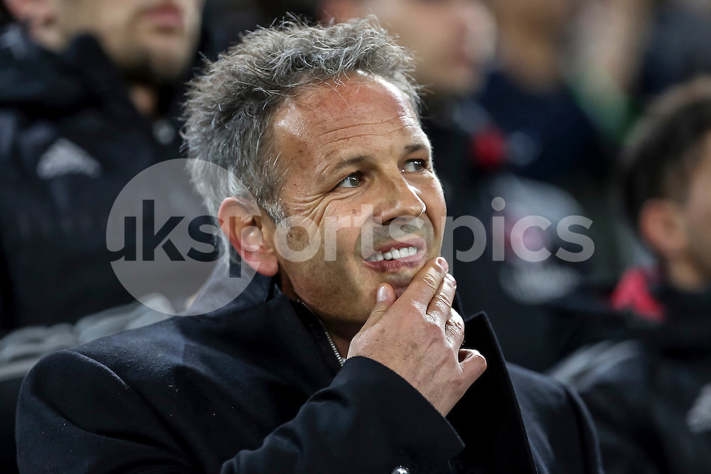 Sinisa Mihajlovic manager of AC Milan ahead the Serie A TIM match between Juventus and AC Milan at the Juventus Stadium, Turin, Italy on 21 November 2015. Photo by sync studio.