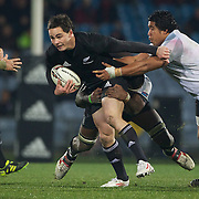 All Black Zac Guildford in action during the New Zealand V Fiji Rugby Union test match at Carisbrook, Dunedin. New Zealand. 22nd July 2011. Photo Tim Clayton