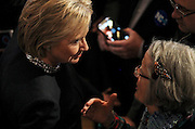 Democratic presidential candidate, Hillary Rodham Clinton holds a town hall meeting at the Rochester Opera House in Rochester, N.H. Friday, Jan. 22, 2016.  CREDIT: Cheryl Senter for The New York Times