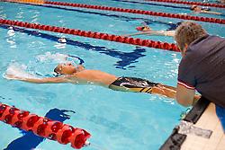MIRZOEV Shamil RUS at 2015 IPC Swimming World Championships -  Men's 50m Backstroke S2