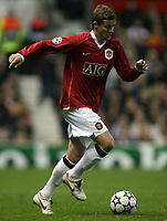 Photo: Paul Thomas.<br /> Manchester United v FC Copenhagen. UEFA Champions League, Group F. 17/10/2006.<br /> <br /> Ole Gunnar Solskjaer of Man Utd in action.