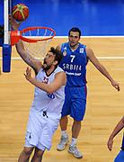 DESCRIZIONE : Vilnius Lithuania Lituania Eurobasket Men 2011 Second Round Spagna Serbia Spain Serbia<br /> GIOCATORE : Pau Gasol<br /> CATEGORIA : tiro penetrazione<br /> SQUADRA : Spagna Spain<br /> EVENTO : Eurobasket Men 2011<br /> GARA : Spagna Serbia Spain Serbia<br /> DATA : 09/09/2011<br /> SPORT : Pallacanestro <br /> AUTORE : Agenzia Ciamillo-Castoria/T.Wiendesohler<br /> Galleria : Eurobasket Men 2011<br /> Fotonotizia : Vilnius Lithuania Lituania Eurobasket Men 2011 Second Round Spagna Serbia Spain Serbia<br /> Predefinita :