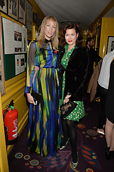 Left to right, JADE PARFITT and JASMINE GUINNESS at the mothers2mothers 15 Years of Wonder Women at held at Annabel's, Berekely Square, London on 9th November 2016.