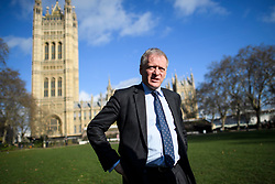 © Licensed to London News Pictures. 20/02/2019. London, UK. Conservative MP PHILLIP LEE is seen in Westminster, London following a Radio interview. 8 Labour MPs and 3 Conservative MP's have resigned form their respective parties to Join the newly formed Independent Group. Photo credit: Ben Cawthra/LNP