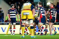 Mark Sorenson of Bristol Rugby celebrates the win - Rogan Thomson/JMP - 26/12/2016 - RUGBY UNION - Ashton Gate Stadium - Bristol, England - Bristol Rugby v Worcester Warriors - Aviva Premiership Boxing Day Clash.