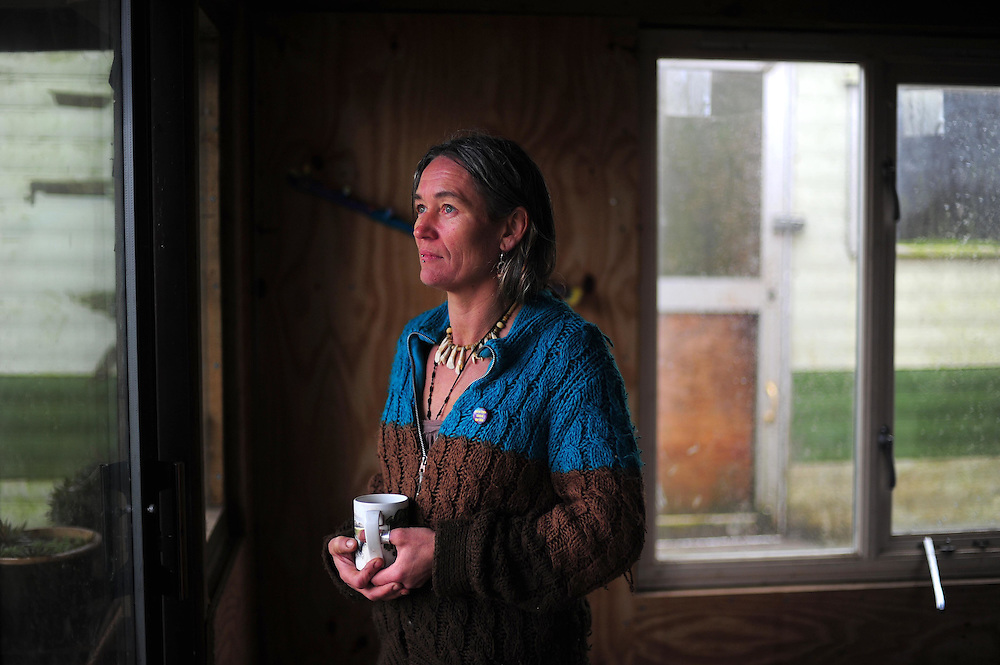 Picture By Jim Wileman  15/01/2009  Fiona Mackeown pictured at home in North Devon, near Bradworthy. Fiona is the mother of Scarlett Keeling, who was murdered in Goa, India.