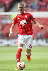 Thomas Lam of Nottingham Forest in action - Mandatory by-line: Jack Phillips/JMP - 30/07/2016 - FOOTBALL - The City Ground - Nottingham, England - Nottingham Forest v Hull City - Pre-Season Friendly